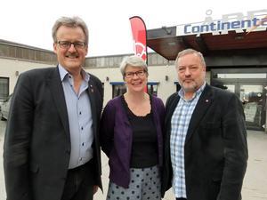 Bengt Bergqvist, Ann-Marie Johansson, Robert Uitto