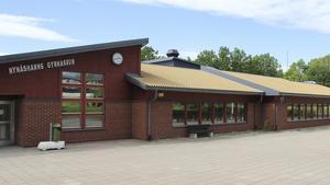 1976 invigdes Nynäshamns gymnasium. I dag ser skolan ut så här.