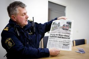 Mc-olyckan mellan Sunnansjö och Saxdalen samt ytterligare två dödsolyckor i Västerbergslagen har Bernt Mattsson varit med om på kort tid.