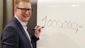 Mikael Bohman, Sparbanken Västra Mälardalens vd, är trea på Arbogas inkomstlista. Foto: Ulf Eneroth.