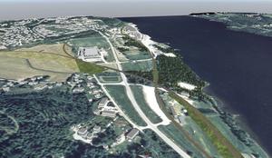 Maland är åter en ort som många talar om på grund av den planerade logistikparken i Petersviksområdet.