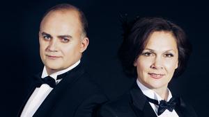 Göran Eliasson och Anna Larsson. Pressbild.Foto: Anna Thorbjörnsson/TT