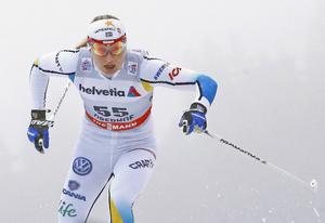 Hanna Erikson kämpar för att komma tillbaka efter stressfrakturen i ryggen.