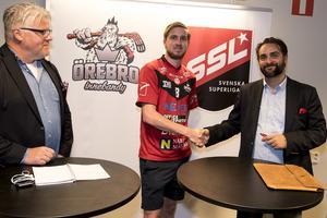 Simon Palmén återvänder till Örebro.