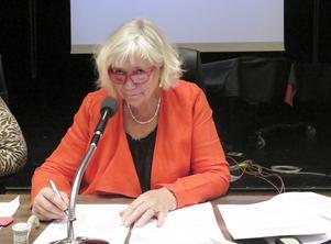 Margareta Winberg (S), regionfullmäktiges ordförande.