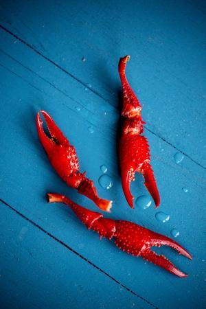 Glöm inte skaldjurstången! Köttet är lite pillrigt att få ut, särskilt ur klorna.    Foto: Christine Olsson/TT