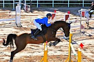 Denise Ödén/Medea, Gävle Ryttarsällskap, kom femma i Wermland Equestrian Games.