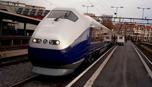 Foto: Vidar Knai/Scanpix. Kommer Örebro trafikeras med höghastighetståg? Beslut under 2019?