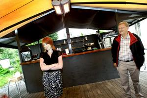 Centerpartiets oppositionsråd i Gävle, Roland Ericsson, välkomnade Annie Lööf.