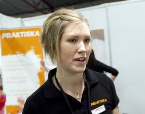Anna Lindholm är floristlärare.