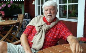 Gunnar Lärka, tidigare moderat politiker i Gagnef och in av initiativtagarna till golfbanebygget i Rista, tycker att det var ett misstag av Gagnefs kommun att låta golfanläggningen övergå i privat ägo.FOTO: CHARLOTTA RÅDMAN FRANS
