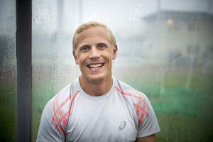 Johan Wissman sprang 200 meter på 20.76. Kvalgränsen till EM låg på 20.95.