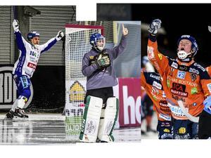David Karlsson, Andreas Bergwall och Daniel Berlin är trion som har chansen att vinna Årets man.
