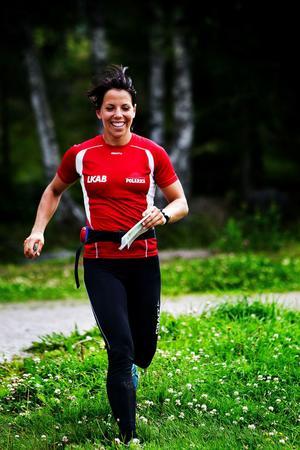 Som nybliven Sundsvallsbo lär Charlotte Kalla avverka en och annan mil i skogarna på och kring Södra Berget framöver.