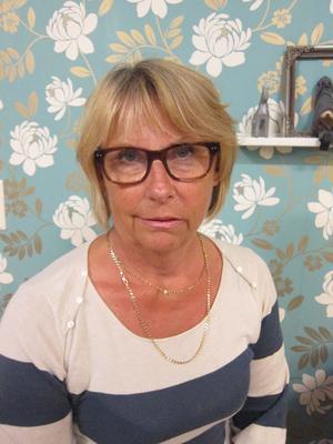 Britt-Marie Westman, ordförande för Lärarförbundet i Gävle.