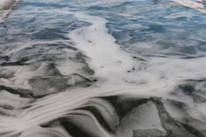 Naturens eget iskonstverk i Hässlösundet.