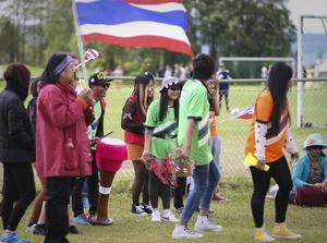 Bangkok MC hade starkt publikstöd i finalen.