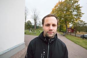 Per Nord, kyrkogårdschef Norberg-Karbennings församling vid Karbennings kyrka.