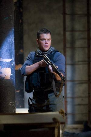 Matt Damon och regissören Paul Greengrass jobbar ihop igen efter Bourne-filmerna.Foto: UIP