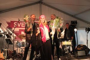 Louise Åslund från Ånge blev den lyckliga vinnaren.