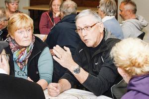 Det diskuterades livligt runt borden i bygdegården Ljungalid där det första i serien av dialogmöten om nationalparken hölls.