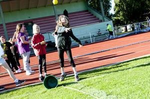 Hanna Jansson stortrivdes med att få delta i mini-OS på Hillängen.