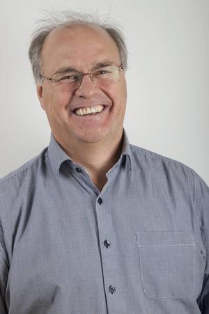 Peter Egardt (S) är kommunstyrelsens ordföande i Älvdalen och en av de som driver frågan om älvdalskans överlevnad.