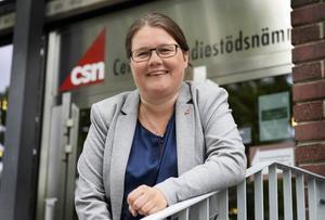 Boel Magnusson, avdelningschef på inbetalningsavdelningen på CSN.
