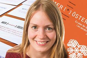 Hannele Lanner Johansson hoppas att priset får andra att se Östersunds kommun som innovativ, nytänkande, modig och inkluderande.