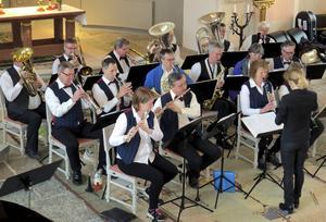 Mora Musikkår gätspelade i Boda kyrka.