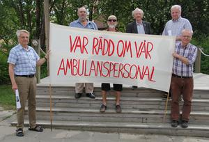 Hans-Olov Vernersson, Karl-Erik Eriksson, Rolf Paulsson, Leif Hansen, Thomas Wandel och Kjell Söderberg står bakom namninsamlingen i Ljusdal kommun.