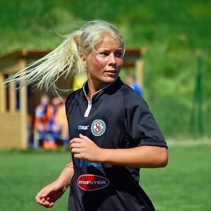 Matchvinnaren Emma Tivemo.