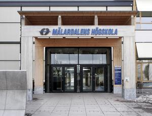 Vinter stundar? Mälardalens högskola ställs inför nya utmaningar med regeringens högskolepolitik och färre studerande de närmaste åren.foto: Ulf Axelson/VLT arkiv