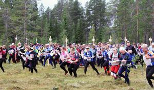 Så här såg det ut vid starten 2012 i Lofsdalen.