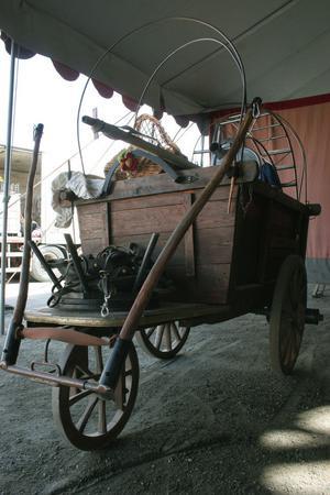 En vagn.