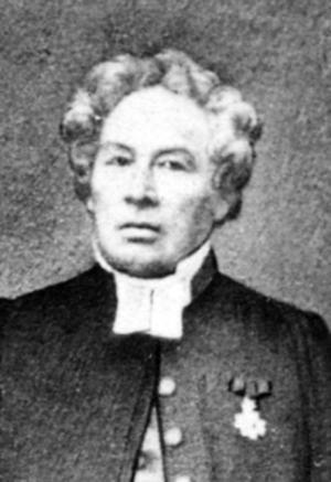 """MISSLYCKADES. Kyrkoherde Abraham Nordström i Gävle försökte förgäves återföra Forsgren till """"den rätta"""" läran."""