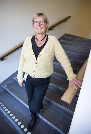 Lena Burström, medicine doktor vid centrum för klinisk forskning i Landstinget Västmanland