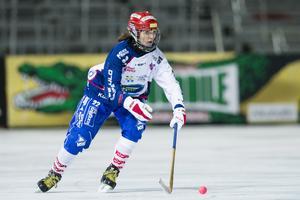 Emma Kronberg under SM-finalen mot AIK 2016.