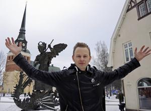Solleröbon Erik Mårtensson i Eclipse är glada att hårdrocken får ta plats när de är med i Melodifestivalens fjärde deltävling på lördag.