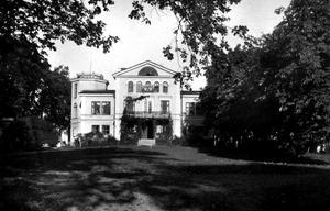 Kristiansborgs herrgård i Västerås revs i slutet av 1950-talet.