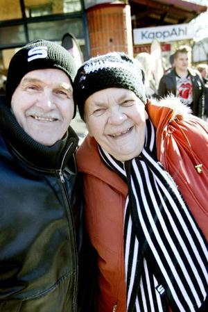 Eva Sjöberg och Uolevi Petrelius är båda Saik trogna sedan många år tillbaka och missar inte många matcher på en säsong.