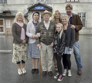 Familjeporträtt från