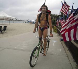 Venice Boardwalk i Los Angeles bjuder på en del sköna typer.   Foto: Emeli Emanuelson