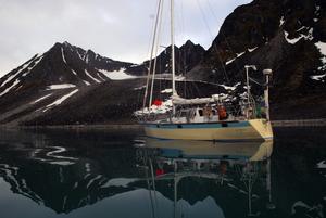Mödan värt. Drömbåten som tog tio år att bygga är 11,5 meter lång, 3,65 meter bred och 1,70 meter djup. Foto:KjellHansson/Talu