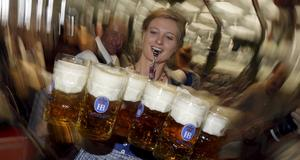 Nu har Oktoberfest i Tyskland inletts.