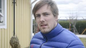 OS-deltagare i kälkhockey. Christian Hedberg, avestabördig, men nu boende i Hedemora fick uppleva OS i Sotji.