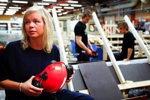 Erika Norderud tyckte att det var roligare att bygga friggebod och bastu än ramper för brädåkare.
