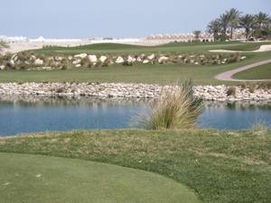 Doha golf club.