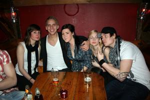 Konrad. Sophia, Mattias, Paolina, Hanna och Pontus