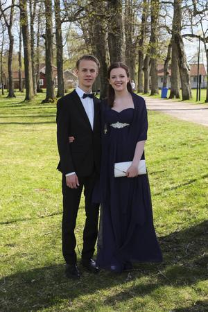 6 Oskar Åslund och Elin Funseth